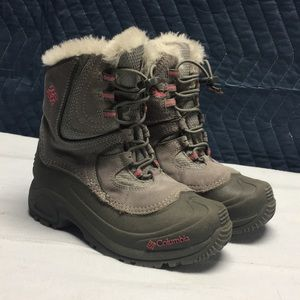 Girls Columbia Winter Snow Boots